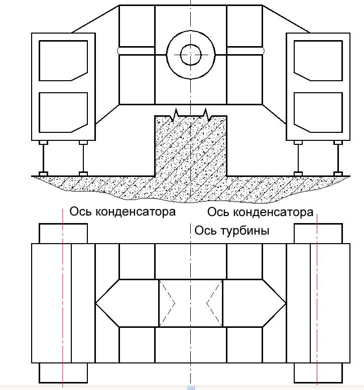 Схема бокового продольного