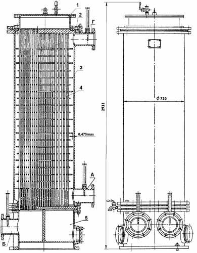 Расчет теплообменника кожухотрубного вода и масло Кожухотрубный испаритель WTK TCE 293 Артём