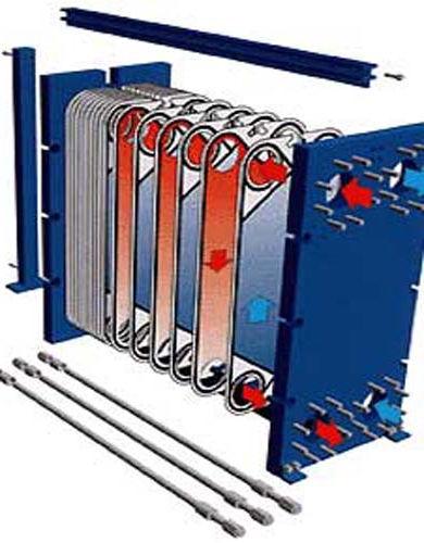 Определение тепловой нагрузки пластинчатого теплообменника расчет диаметра теплообменника