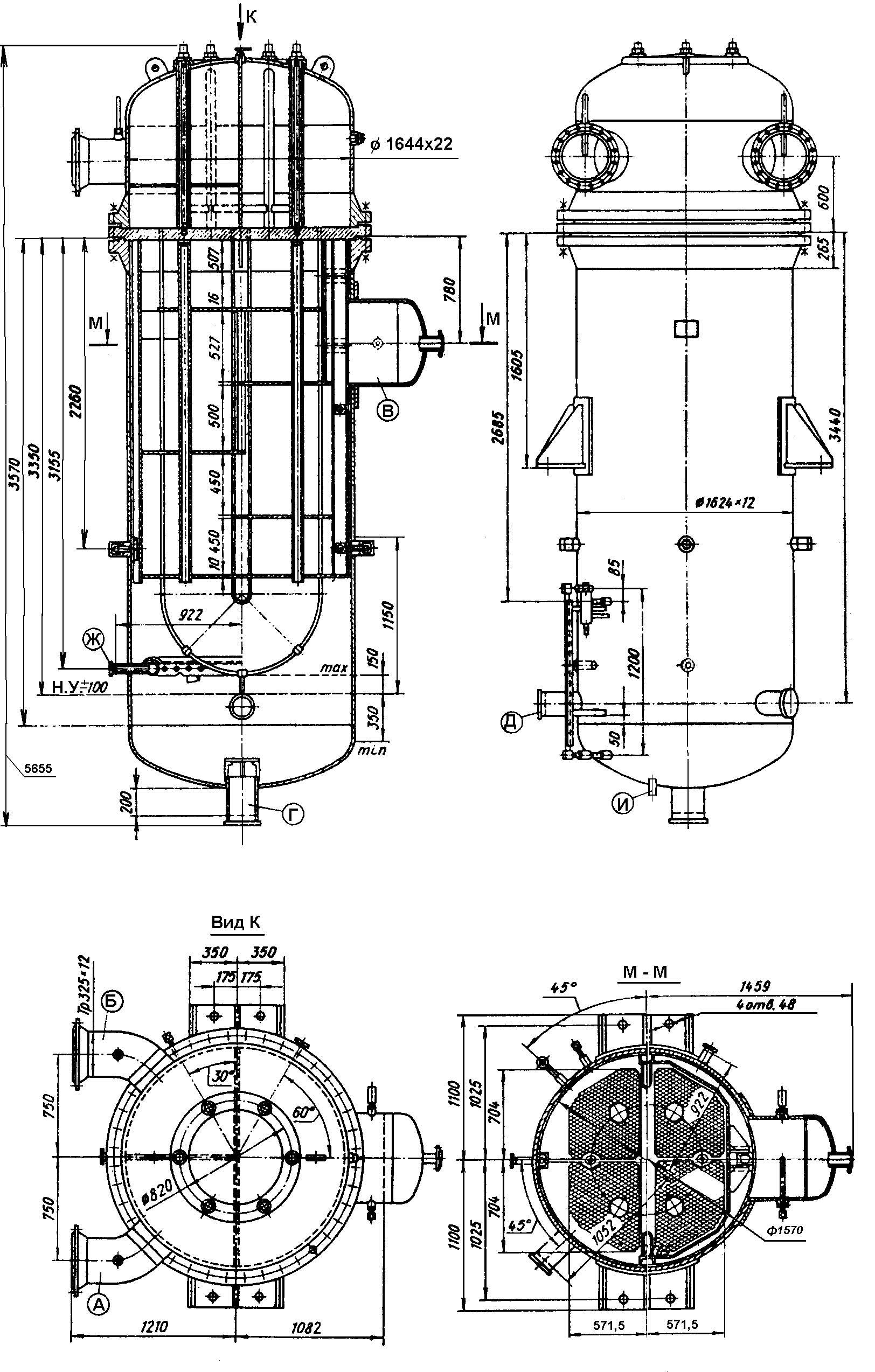 Подогреватель высокого давления ПВ-425-230-25-4 Ноябрьск Подогреватель мазута ПМР 13-60 Саров